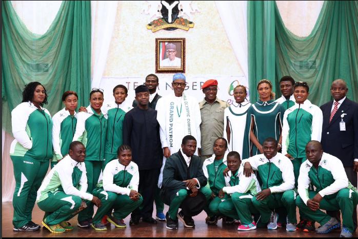 Olympics Buhari