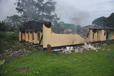 INEC office razed by hoodlums 2023 election Imo State