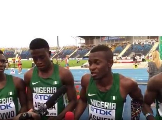 Nigerian Athletes IAAF