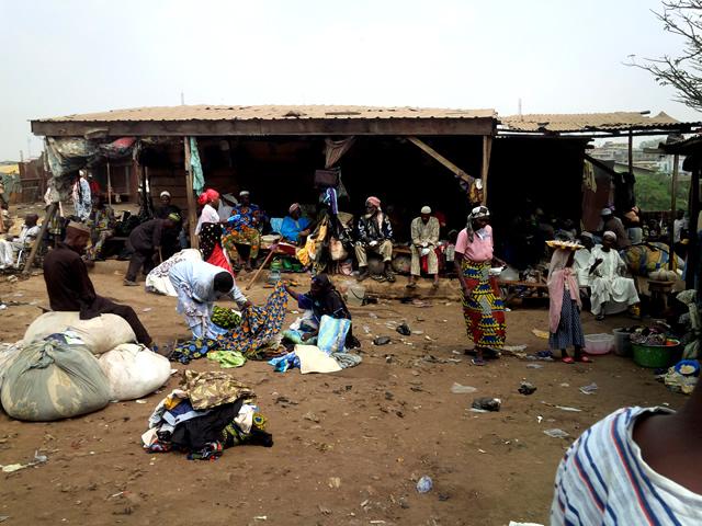 Beggars in Ibadan