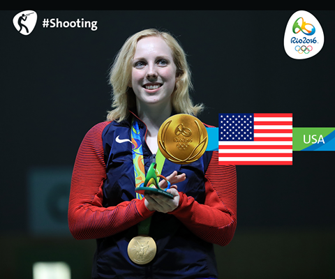 first olympic gold winner in rio