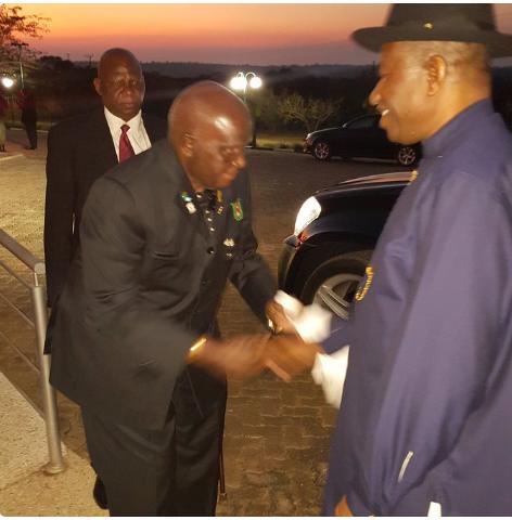 GEJ and Kenneth Kaunda