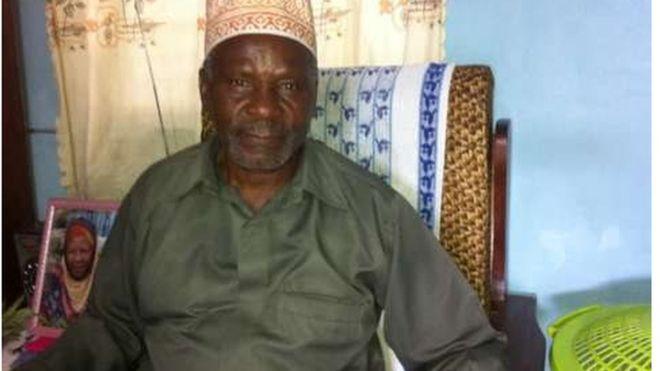 75-year-old Athumani Mchambua Photo Credit: BBC