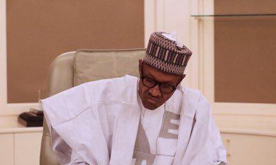 Buhari signs anti corruption agreements