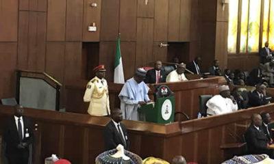 Buhari presents 2018 budget