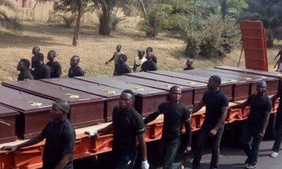 mass burial Benue #BenueMourns