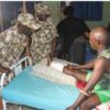 The Nigerian Army has disclosed that about 7,403 injured soldiers are currently undergoing medical treatment at the 44 Nigerian Army Reference Hospital in Kaduna.
