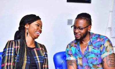 I have badass make-up skills, Teddy A says as he shows off on wife's face Bambam