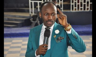 Apostle Suleman blames covid-19 on China, says they constantly put the world in danger
