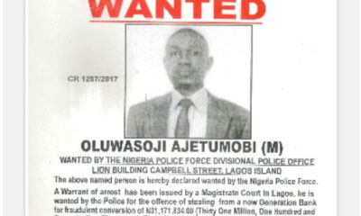 Wanted bankers