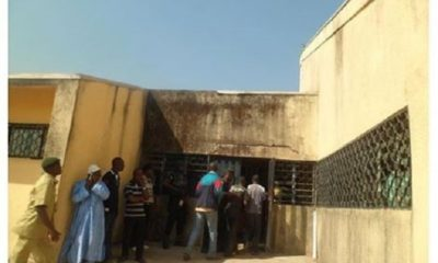 Four inmates escape from Jos Prison