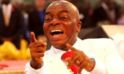 Oyedepo speaks on private helicopter