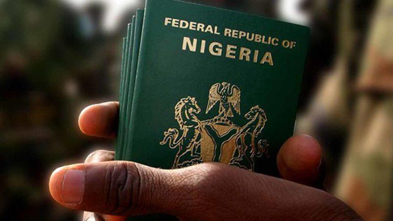 Nigerian passport Innigation NIS immigration service