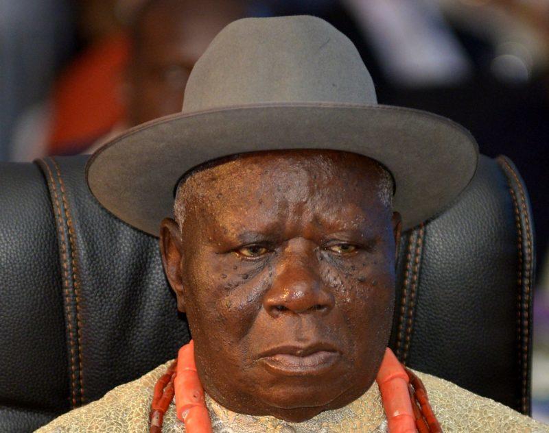 Edwin Clark frowns at Petroleum Industrial Bill