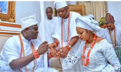 Ooni and Olori Moronke Ogunwusi