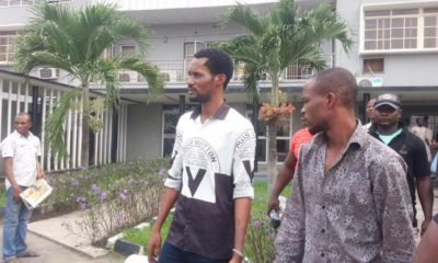 Seun Egbegbe appears in court after 20 years