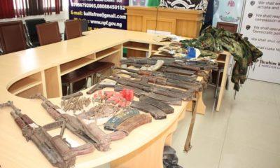 Adamawa police firearms