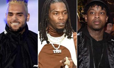 Chris Brown, Offset, 21 Savage