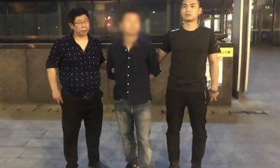 Police track suspect