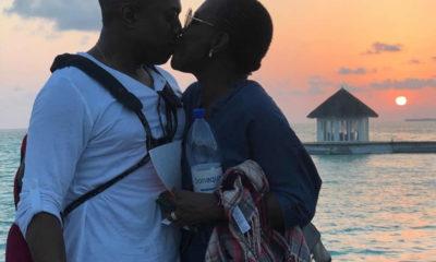 Tara and Fela honeymoon in Maldives