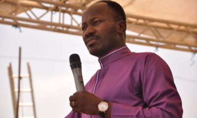 Apostle Suleman allegedly heals family infected with coronavirus during good Friday online service