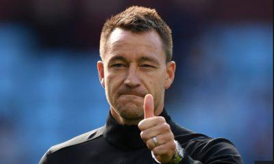 John Terry leaves Aston Villa