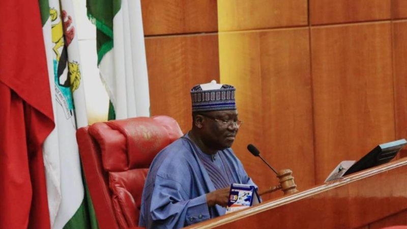 Ahmad Lawan Constitution review