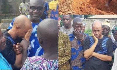 Saka buries mother, aged 92