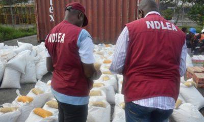 NDLEA arrets three in cocaine burst