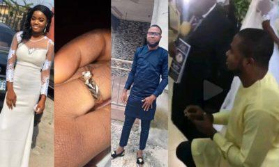 pastor proposing