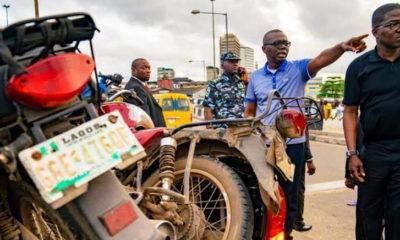 Lagos State ban on okada sanwo-olu