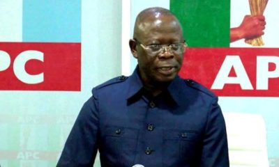 Mr Adams Oshiomhole