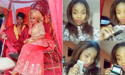 Nigerian man marries lady he once trolled on social media, shares photo of Traditional wedding