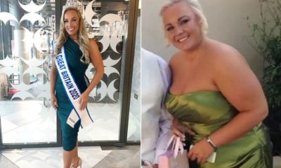 Bride dumped by fiance for being too fat gets 'ultimate revenge' by winning Miss Great Britain