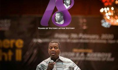 PFN celebrates Pastor Adeboye at 78