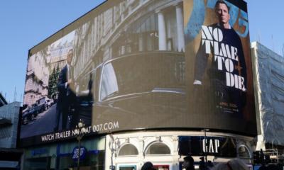 Coronavirus fears derail London events, concerns raised on Bond film release