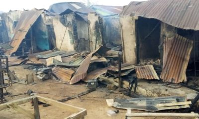 Fire razes shopping complex in Osogbo (photos)
