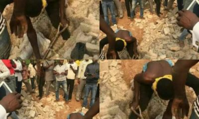Four-year-old baby reportedly buried alive in a church in Osun