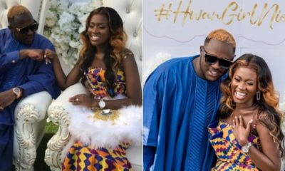 Fella Makafui collapses during traditional wedding, says it's a prank