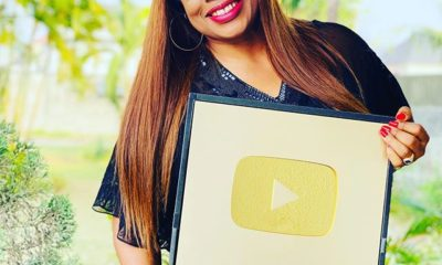 Gospel singer, Sinach bags YouTube gold plaque