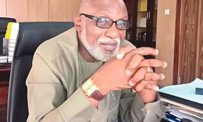 COVID-19: Akeredolu warns against politicising distribution of palliatives