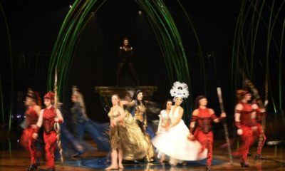 Cirque du Soleil sack almost all staff as coronavirus leads to cancelled shows