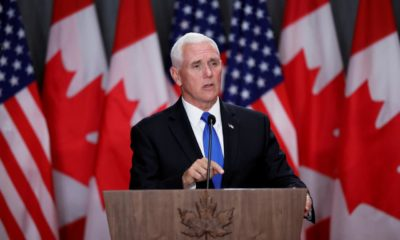 U.S. VP Pence not in quarantine, to be at White House Monday, after aide tests positive for Covid-19