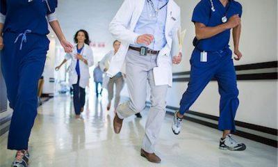 Drama unfolds as doctors and nurses run away after suspected coronavirus case