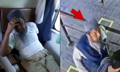 Moment coronavirus infected man spat on passenger's face before dropping dead (video)