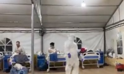 Lagos: See the condition of patients admitted in the covid-19 isolation centre