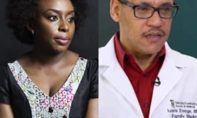 Covid-19: Chimamanda Adichie expresses concern over husband who is a medical doctor