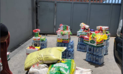 Landlord surprises tenants with packages as coronavirus relief material (photo)
