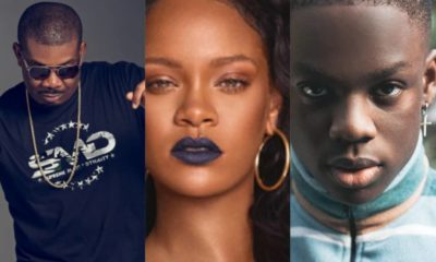 Don Jazzy excited as Rihanna vibes to Rema's 'Dumebi'