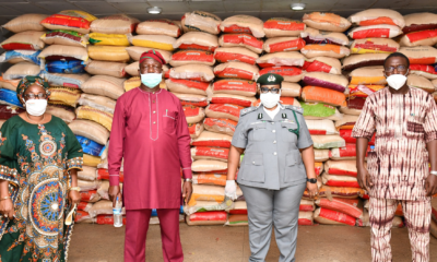 NCS counters Makinde's claims, says 1,800 bags of rice released as palliative in good condition